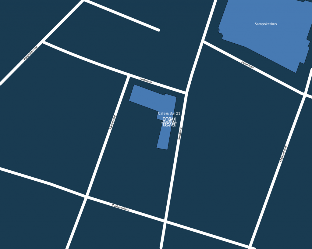 Room Escape Rovaniemi  kartta